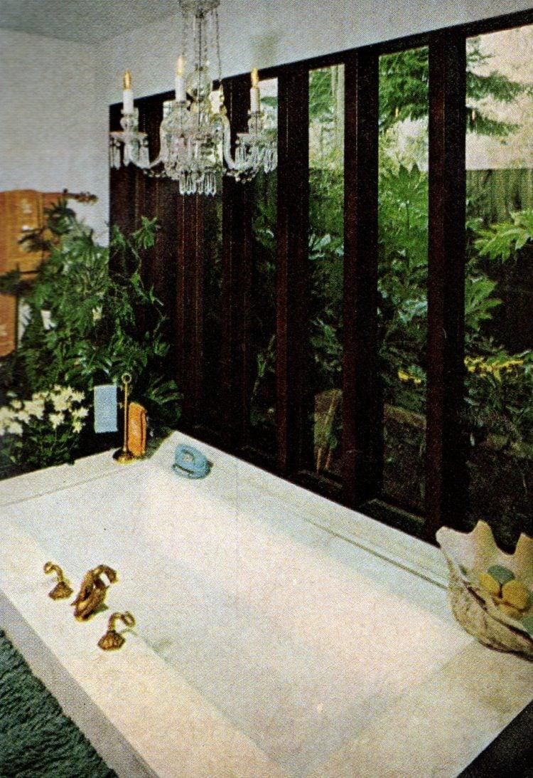 Vinatge 1960s bathroom interior decor (1)