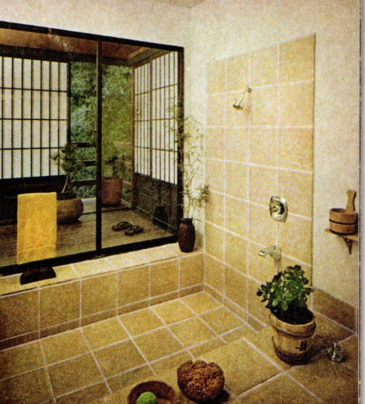 Vinatge 1960s bathroom interior decor (3)