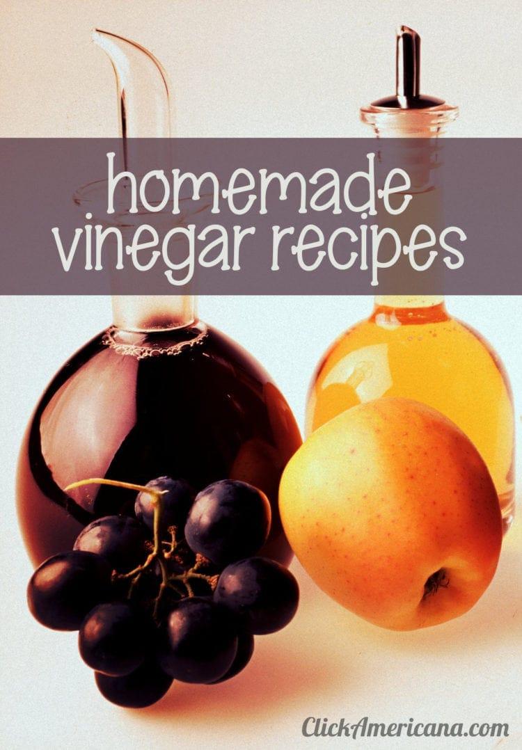 Vinegar recipes for 16 flavored homemade vinegar