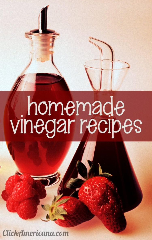 Vinegar recipes for 16 flavored homemade vinegars