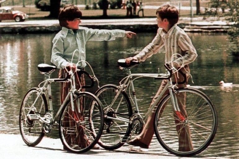Vintage 10-speed bicycles