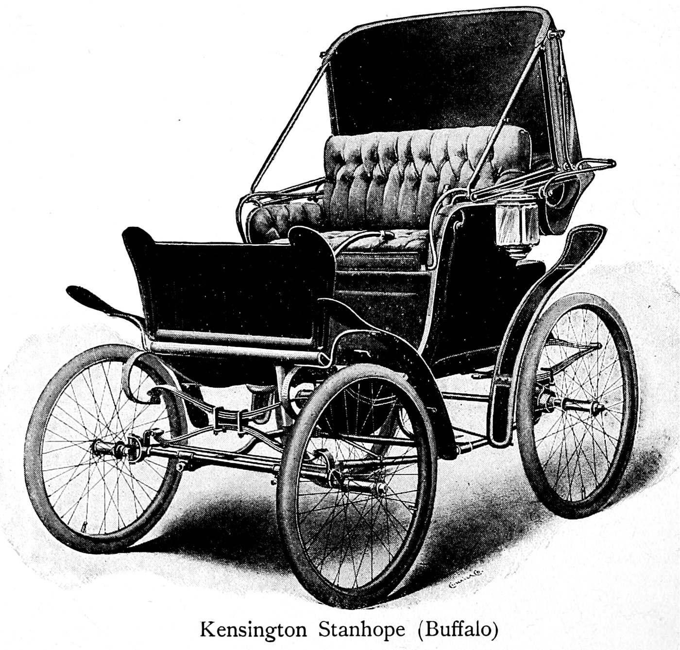 Vintage 1900s automobile -- Kensington Stanhope (Buffalo)