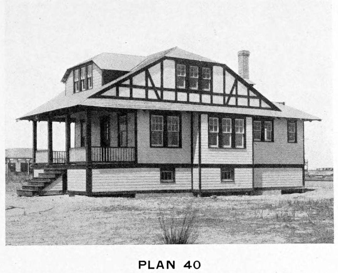 Vintage 1910 cottage home plans - Number 40