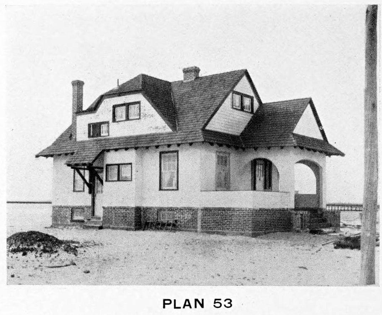 Vintage 1910 cottage home plans - Number 53