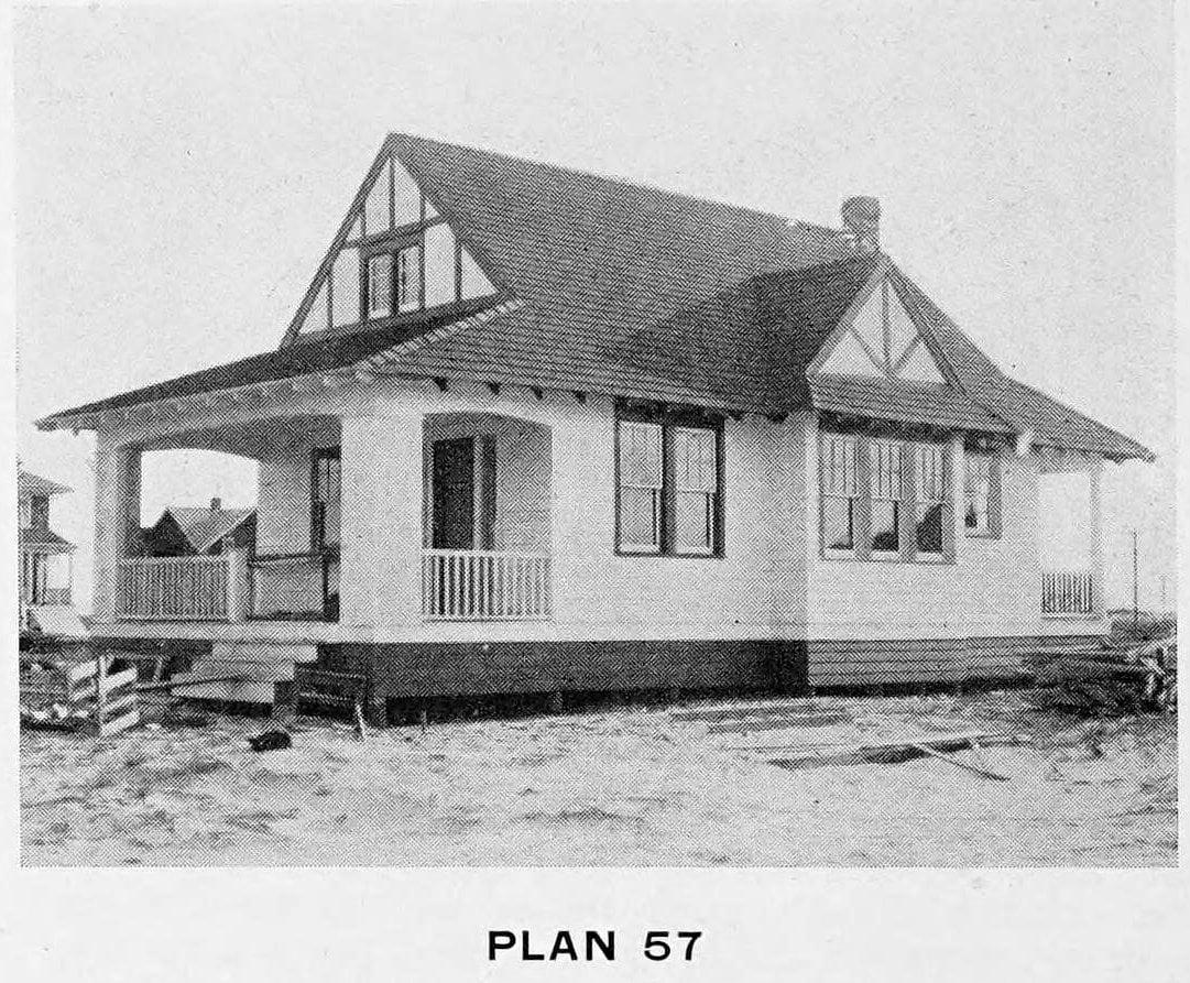 Vintage 1910 cottage home plans - Number 57