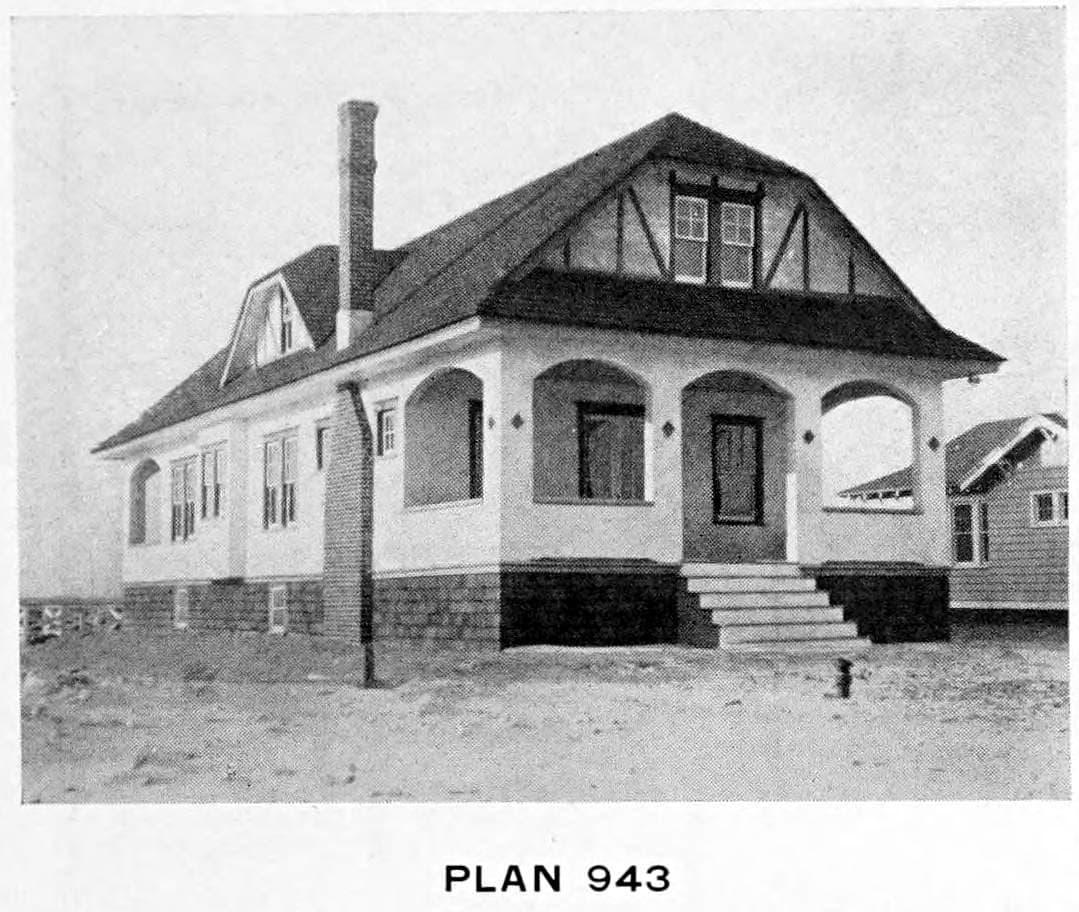 Vintage 1910 cottage home plans - Number 943