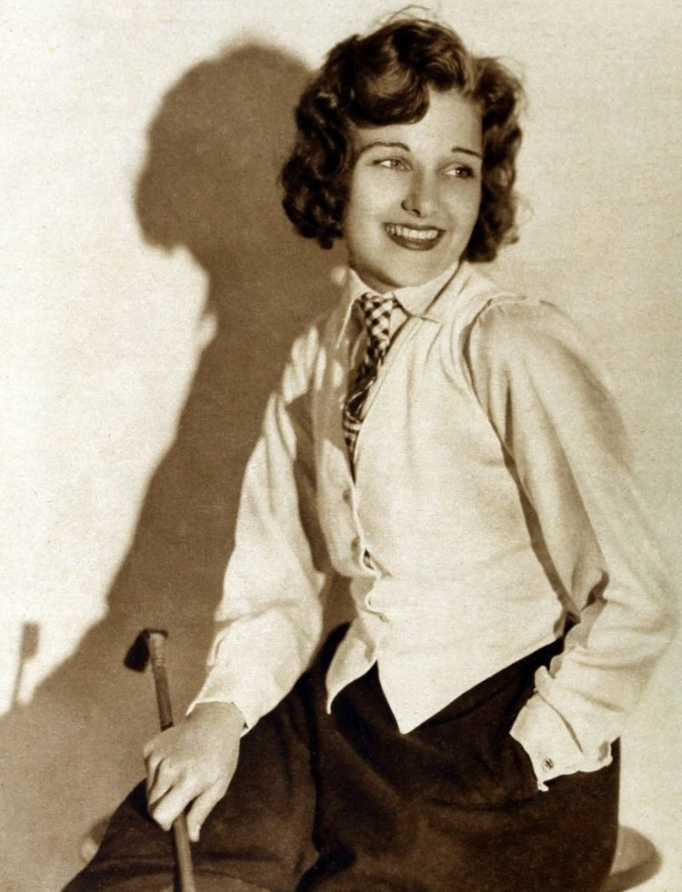 Vintage 1920s actress Lola Lane - the daughter of a dentist