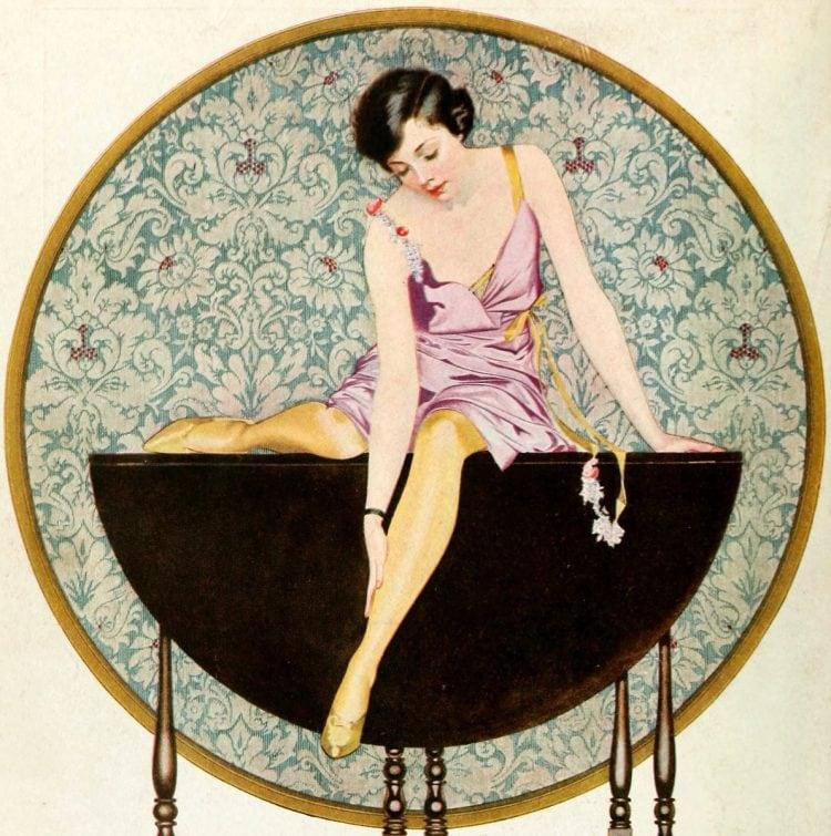 Vintage 1920s flapper fashions (2)