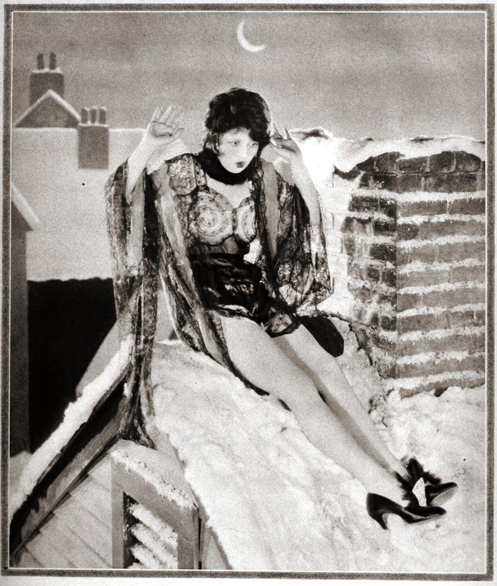 Vintage 1920s flapper fashions