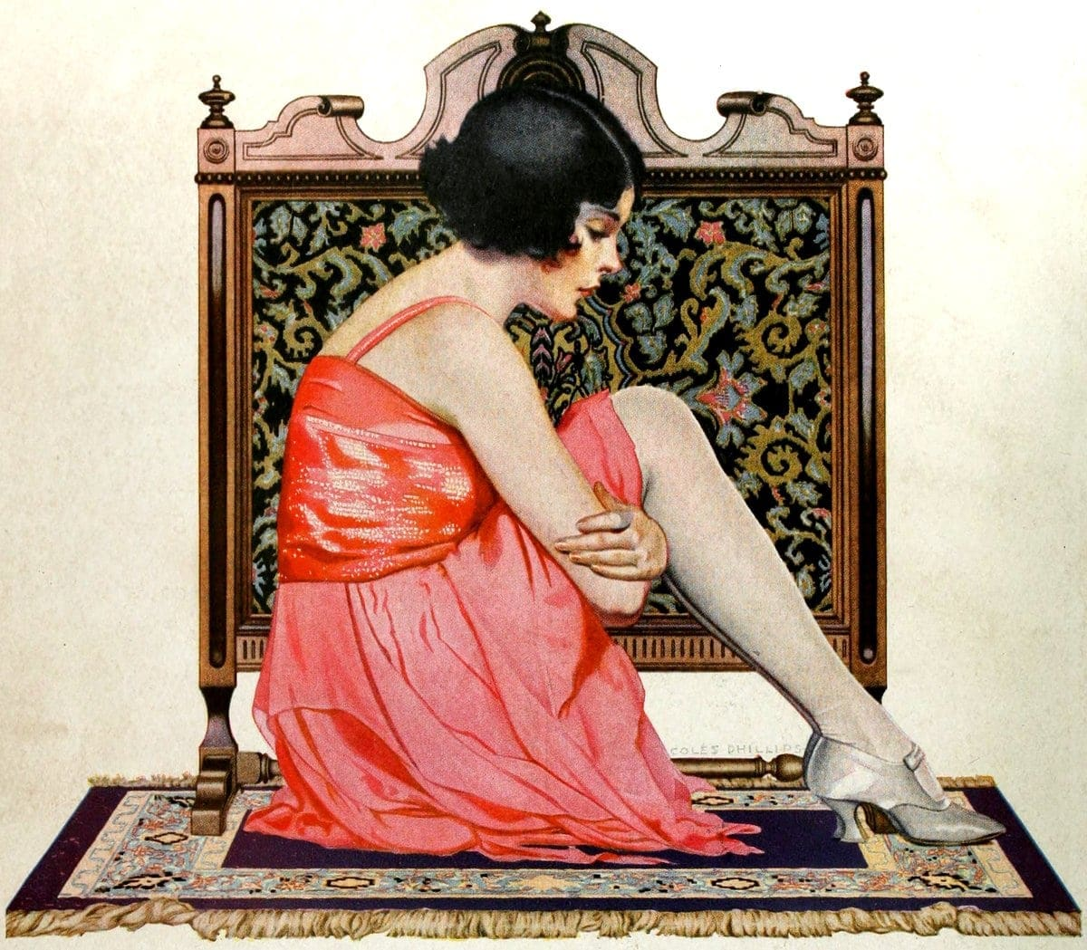 Vintage 1920s flapper fashions (7)