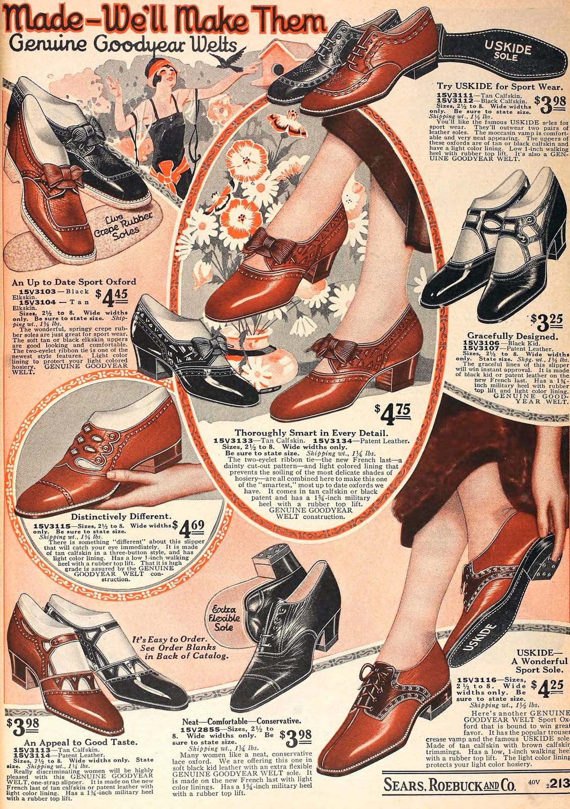 Vintage 1920s shoes for women from 1925 (1)