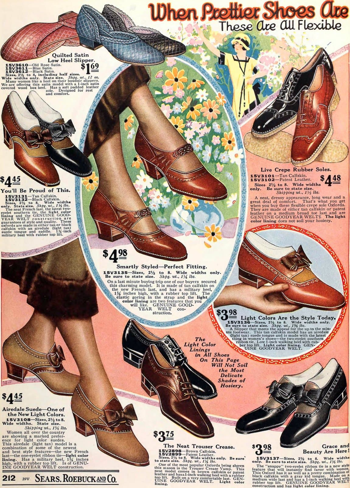 Vintage 1920s shoes for women from 1925 (2)