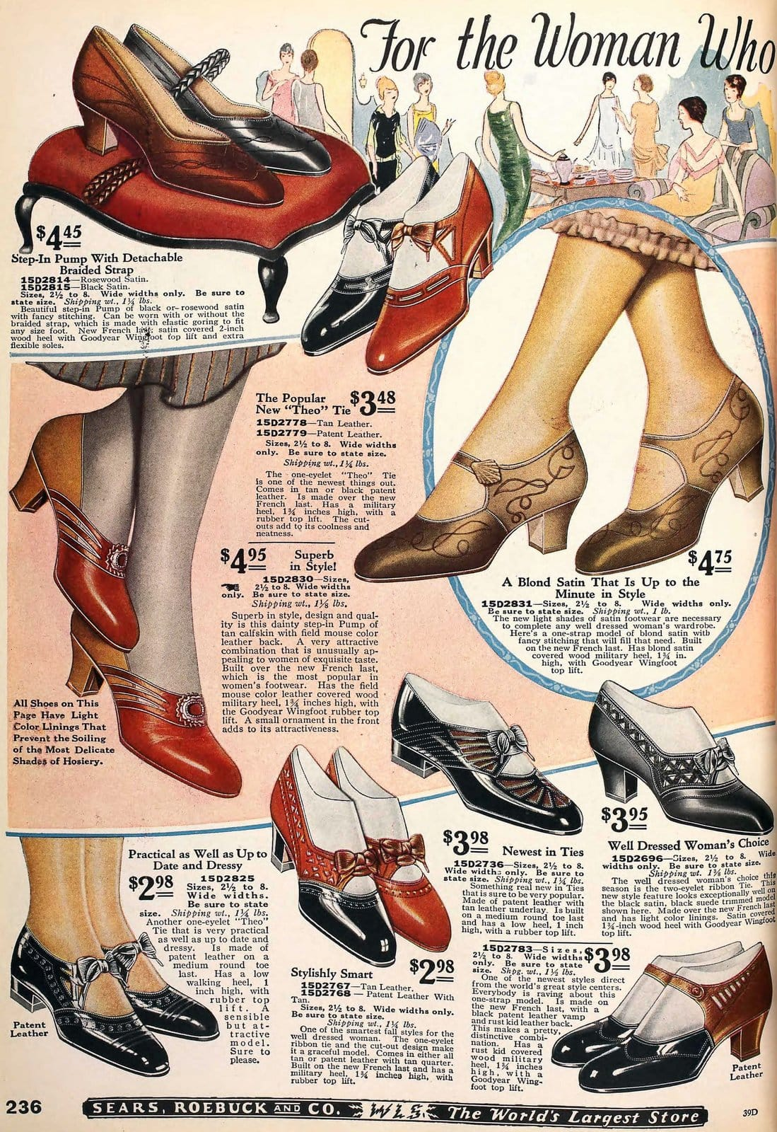 Vintage 1920s shoes for women from 1925 (4)