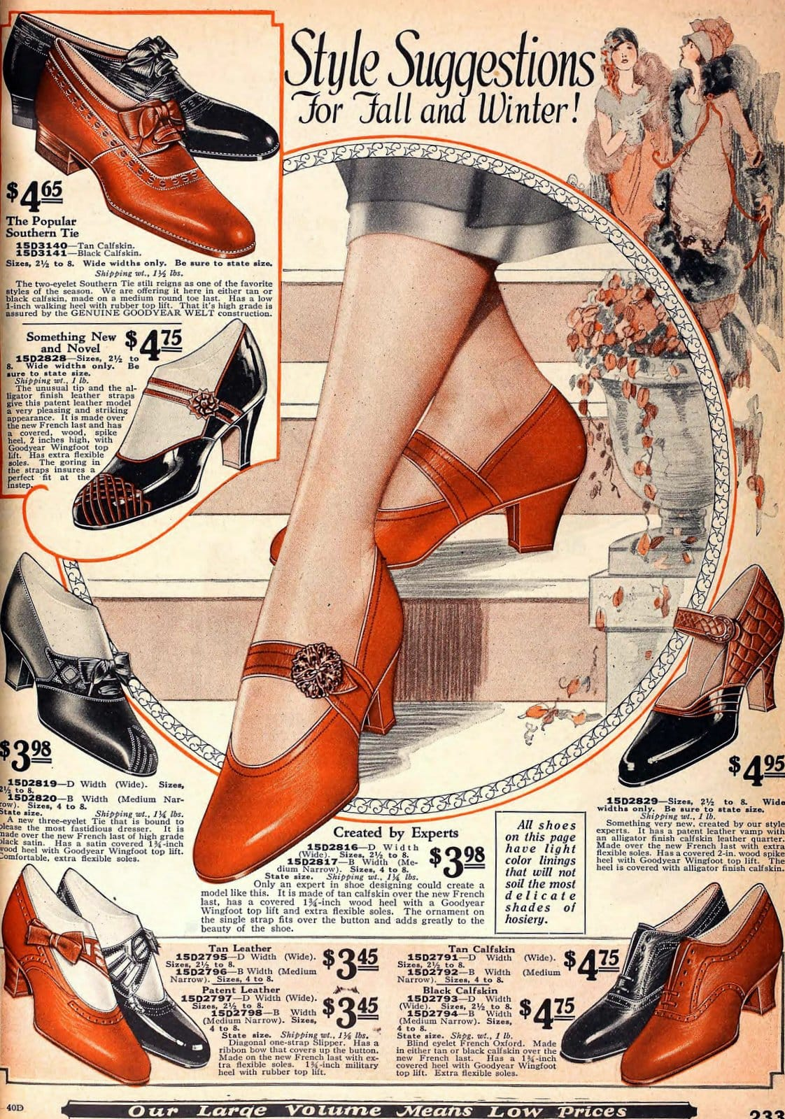 Vintage 1920s shoes for women from 1925 (6)