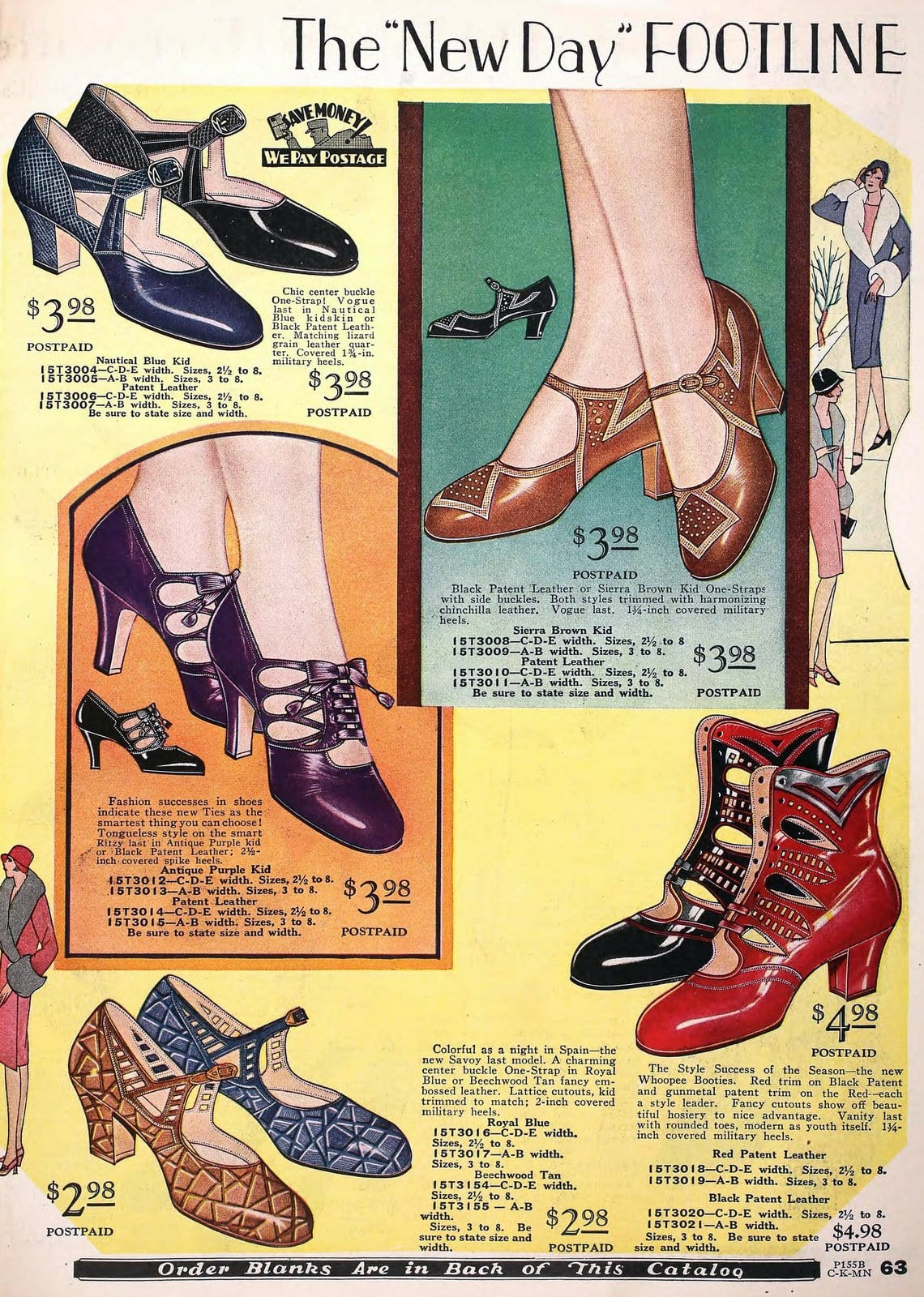 Vintage 1920s shoes for women from 1929 (1)