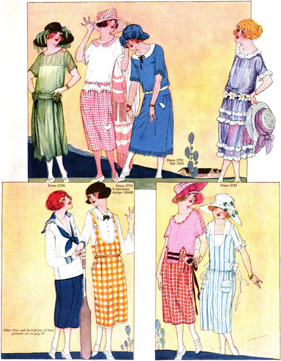Vintage 1920s summer clothing - July 1922 (3)