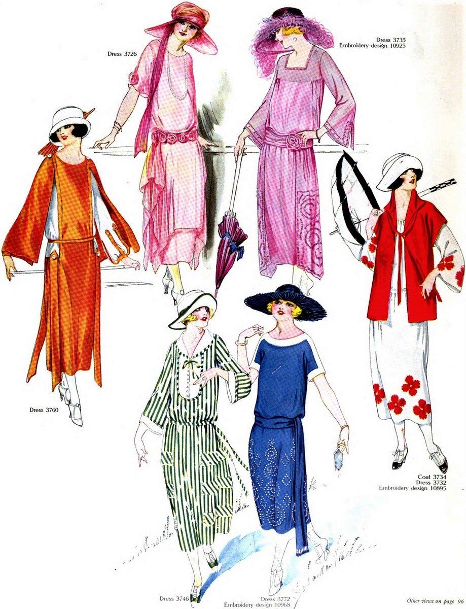 Vintage 1920s summer clothing - June 1922 (2)