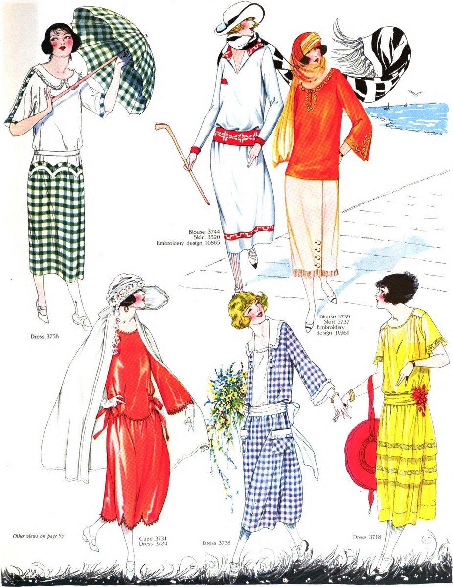 Vintage 1920s summer clothing - June 1922 (3)