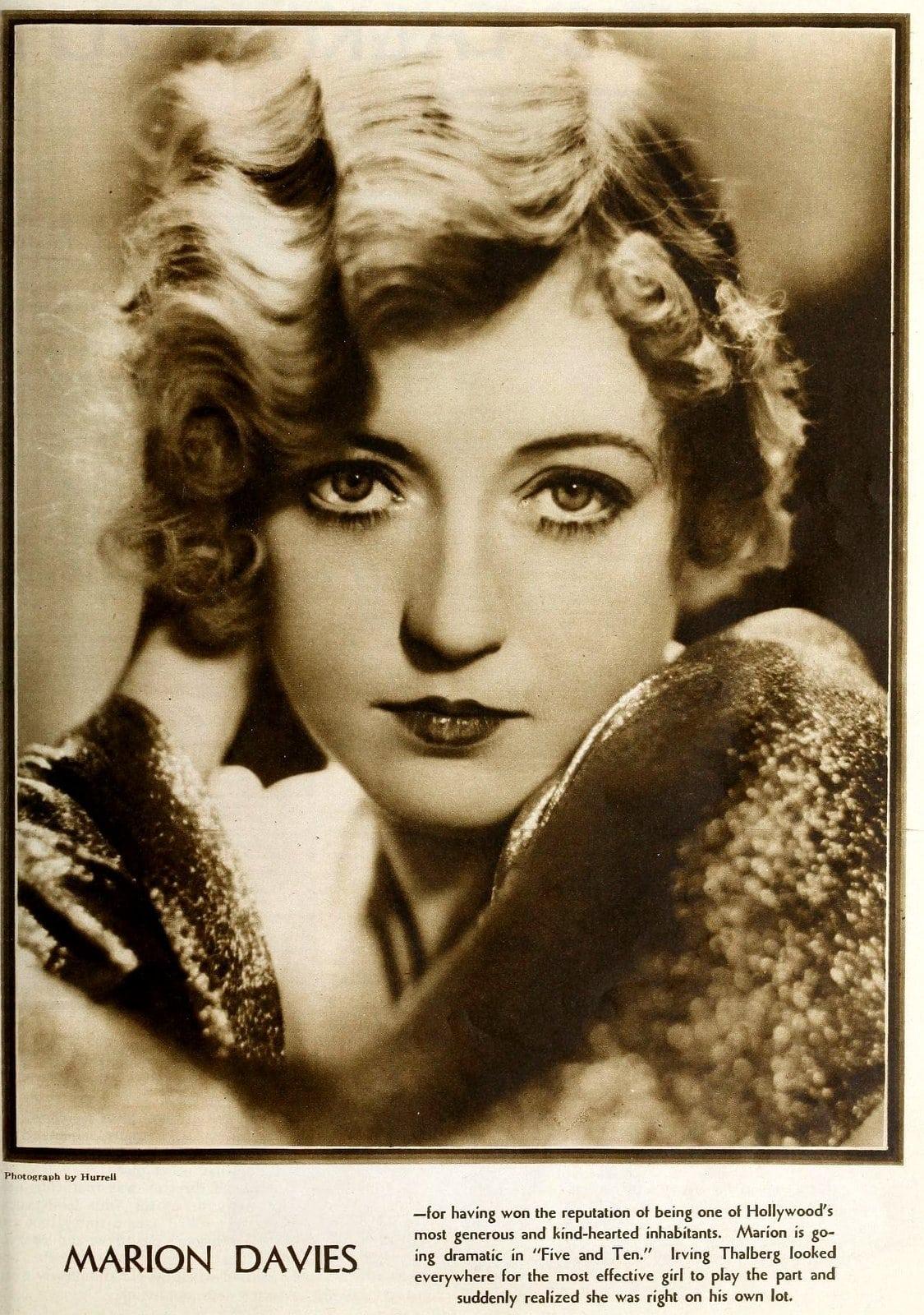 Vintage 1930s acress Marion Davies