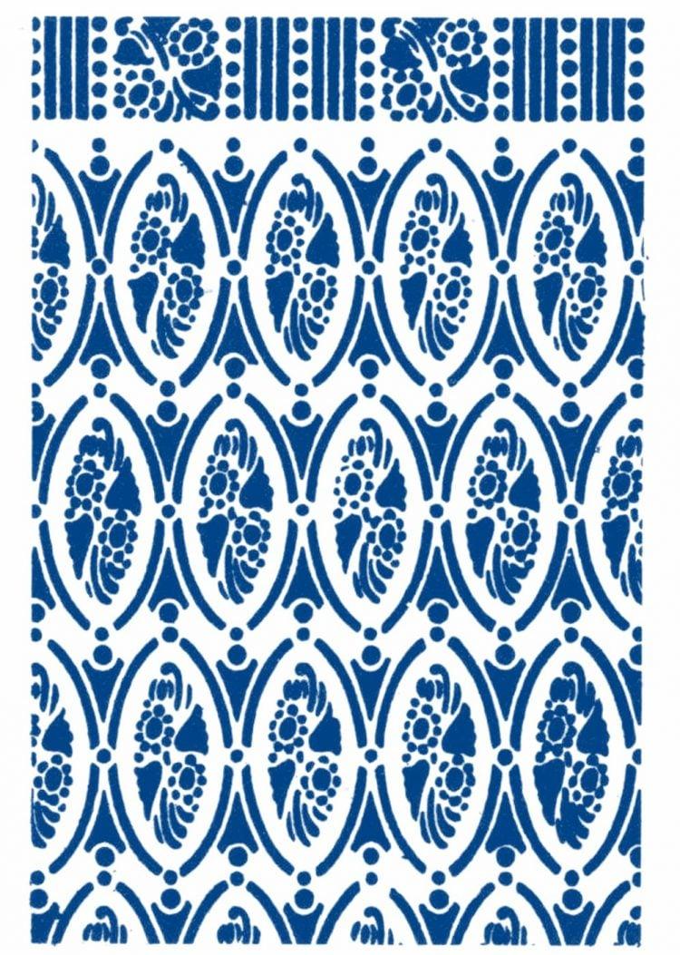 Vintage 1930s stencil patterns (2)
