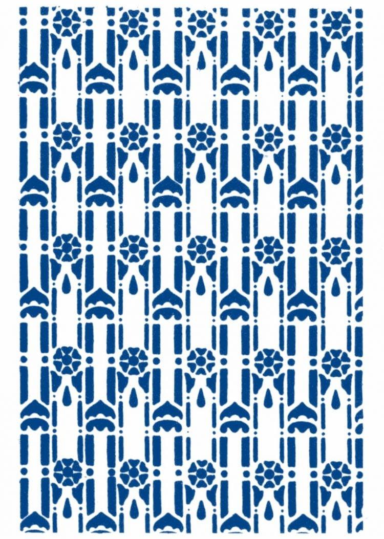 Vintage 1930s stencil patterns (4)