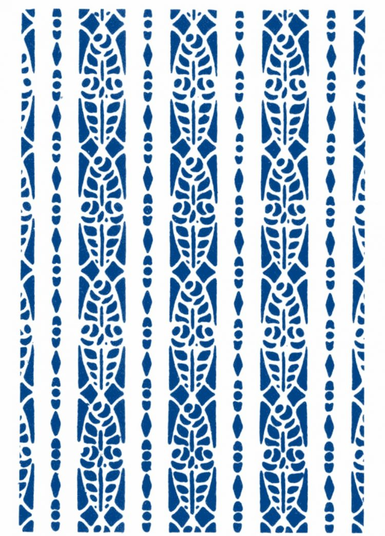 Vintage 1930s stencil patterns (5)