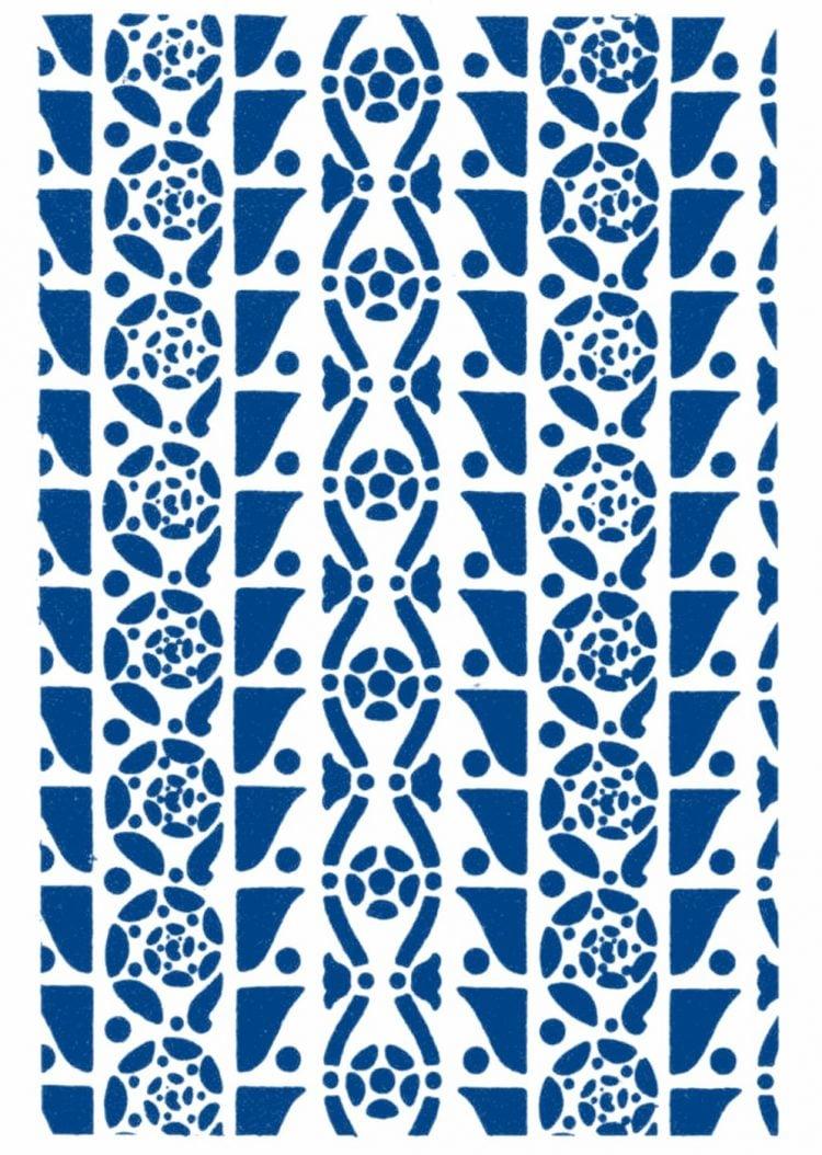 Vintage 1930s stencil patterns (6)