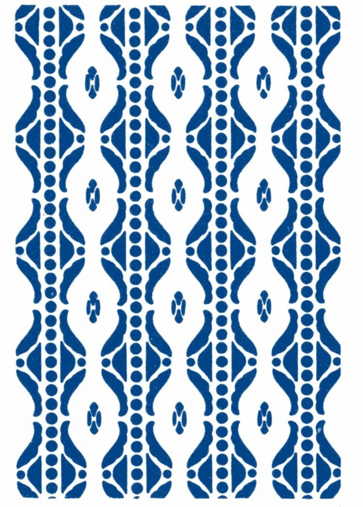 Vintage 1930s stencil patterns (7)