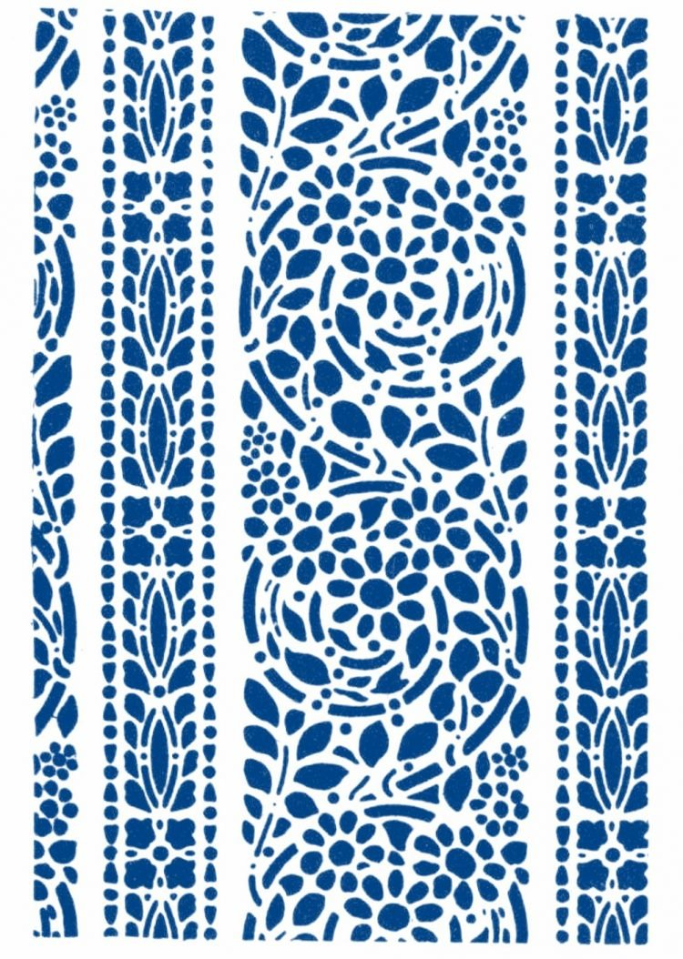 Vintage 1930s stencil patterns (8)