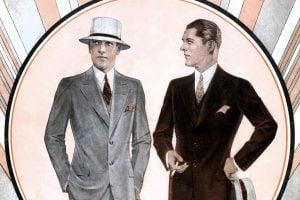 Vintage 1930s suits