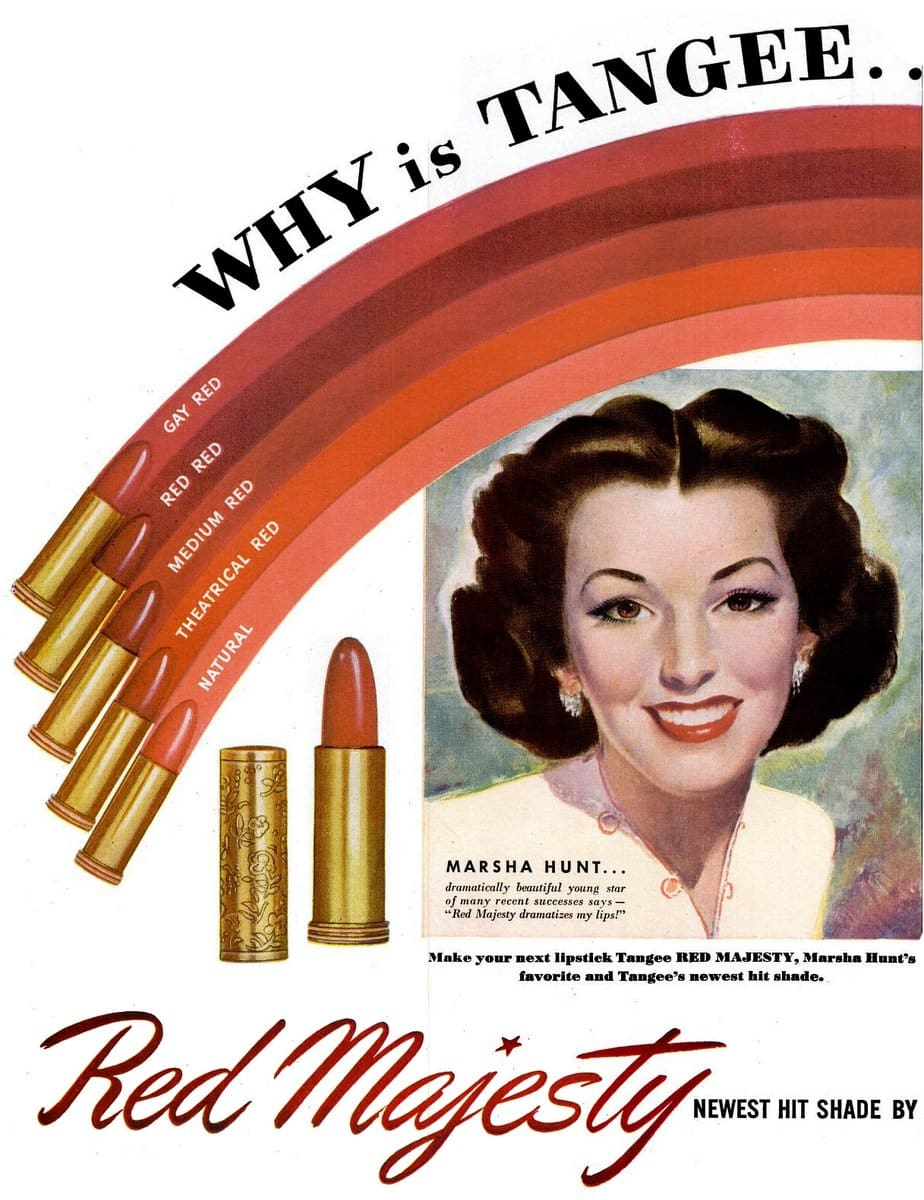 Vintage 1940s Tangee Lipstick (1947)