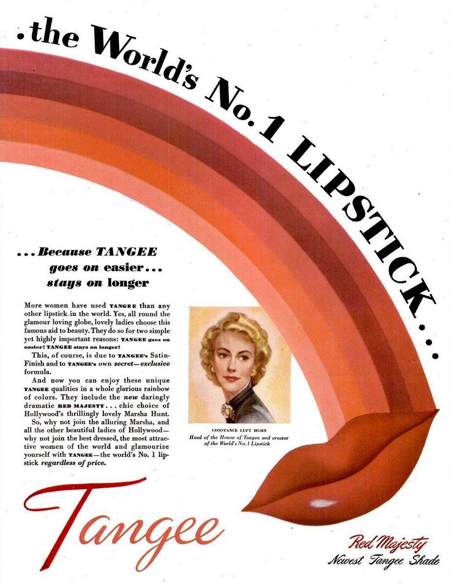 Vintage 1940s Tangee Lipstick (1948)