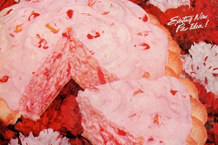 Vintage 1950s Fluffy Fruit Pie recipe