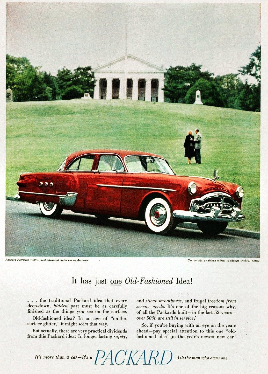 Vintage 1951 Packard Patrician 400