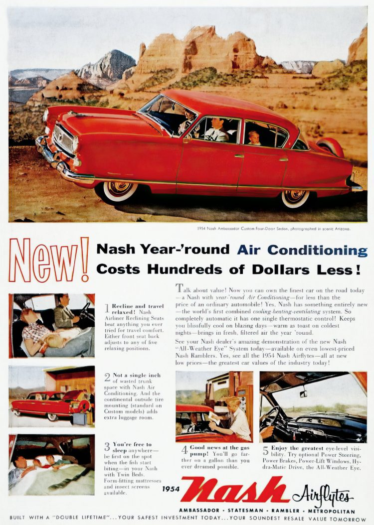 Vintage 1954 Nash Airflyte classic cars