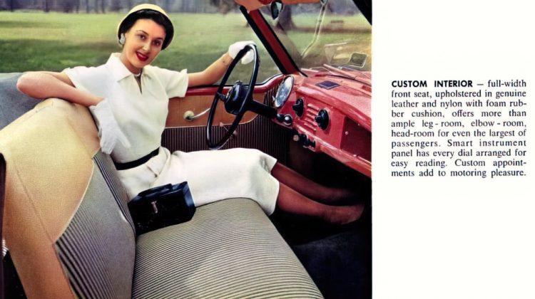 Vintage 1954 Nash Metropolitan classic cars (1)
