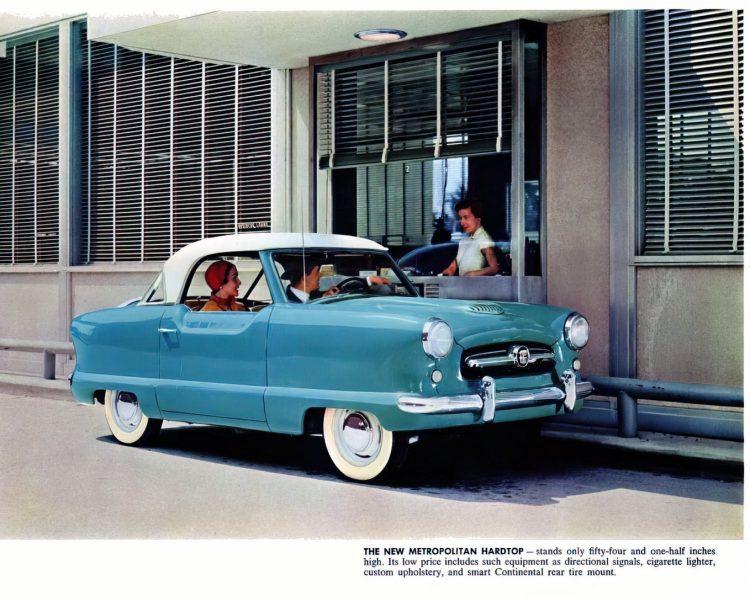 Vintage 1954 Nash Metropolitan classic cars (2)