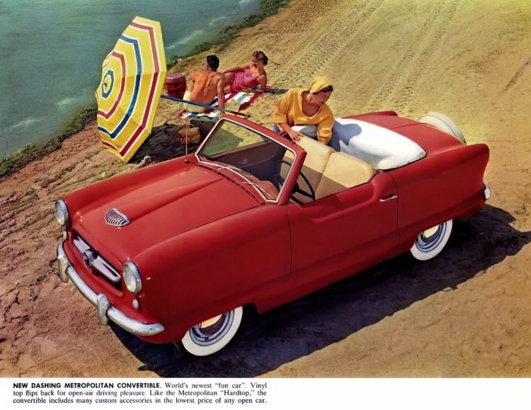 Vintage 1954 Nash Metropolitan classic cars (3)