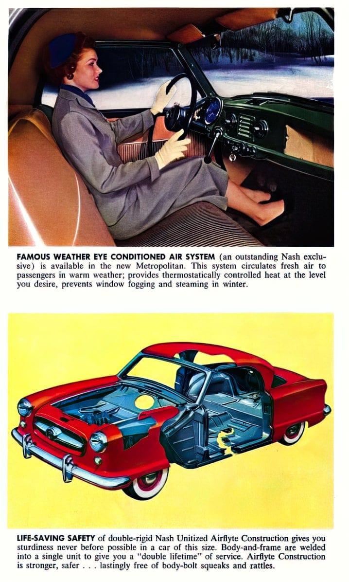 Vintage 1954 Nash Metropolitan classic cars (5)