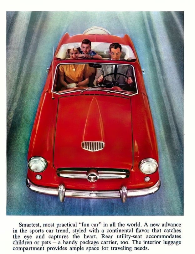 Vintage 1954 Nash Metropolitan classic cars (6)
