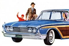 Vintage 1960 station wagon wonders from Ford