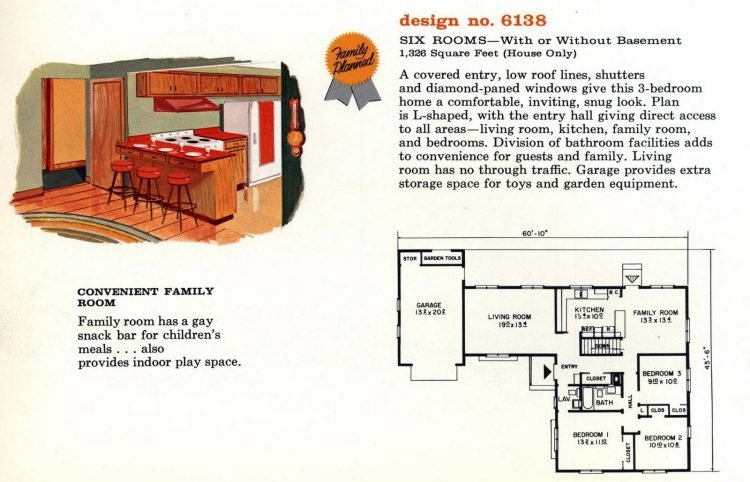 Vintage 1960s home plan 6136 (1)