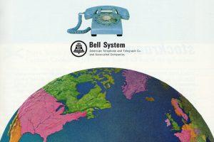 Vintage 1960s international long distance phone calls