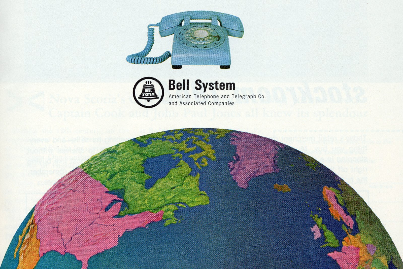 Vintage 1960s international long distance phone calls