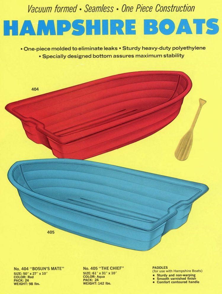 Vintage 1960s water toys (1)