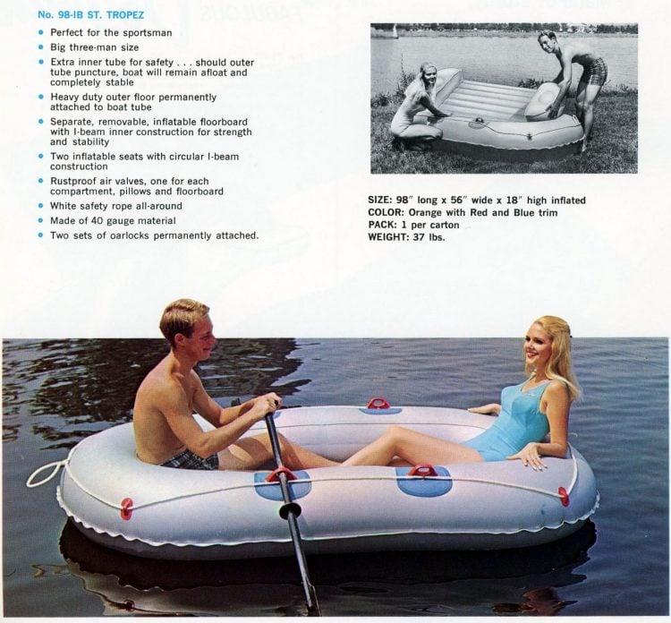 Vintage 1960s water toys (2)