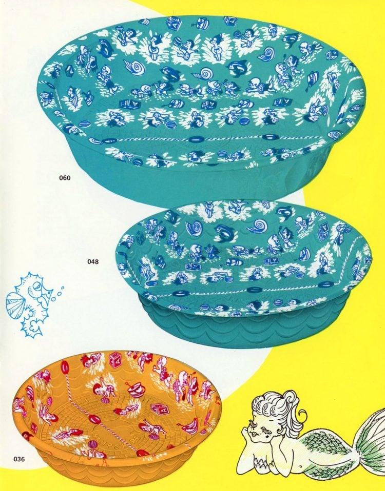 Vintage 1960s water toys (4)
