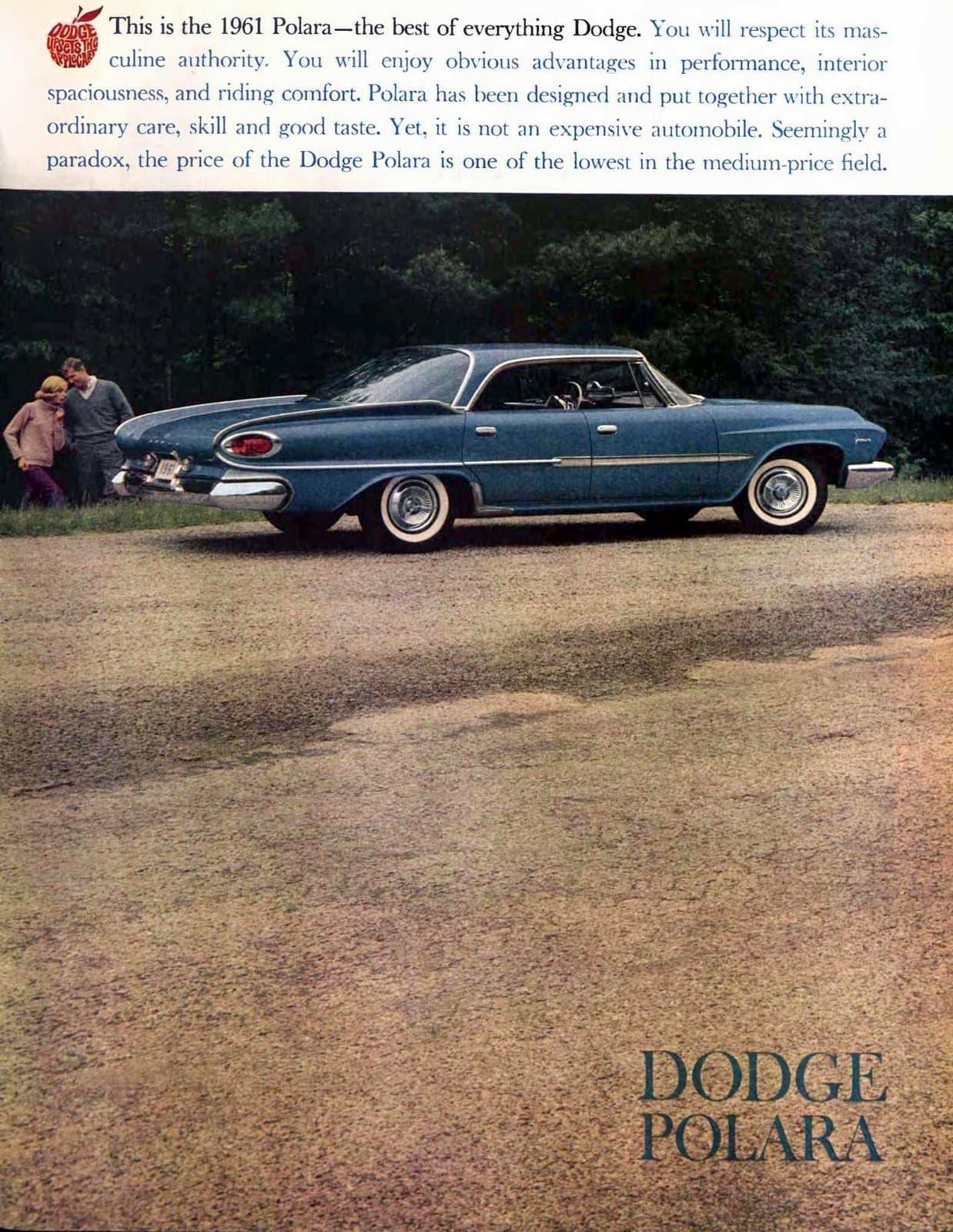 Vintage 1961 Dodge Polara