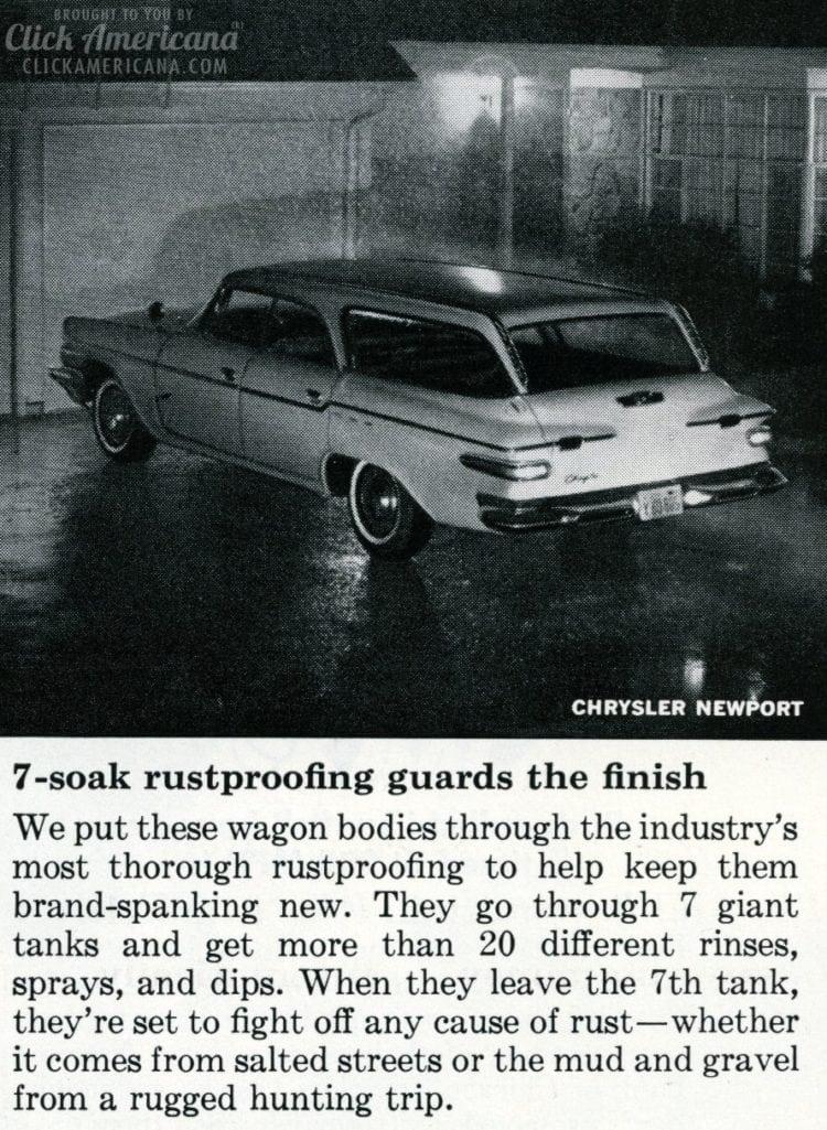 Vintage 1962 Chrysler Newport station wagon