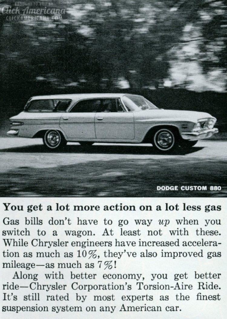 Vintage 1962 Dodge Custom 880